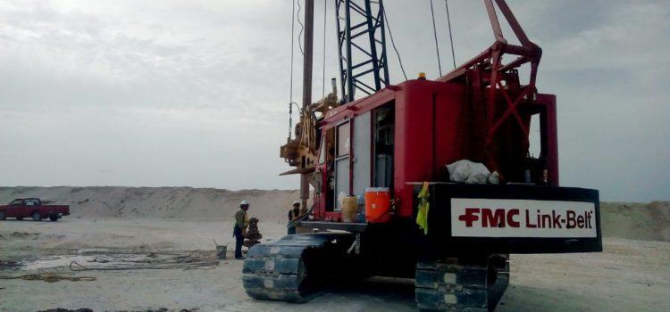 Pilas de cimentación Playa del Carmen